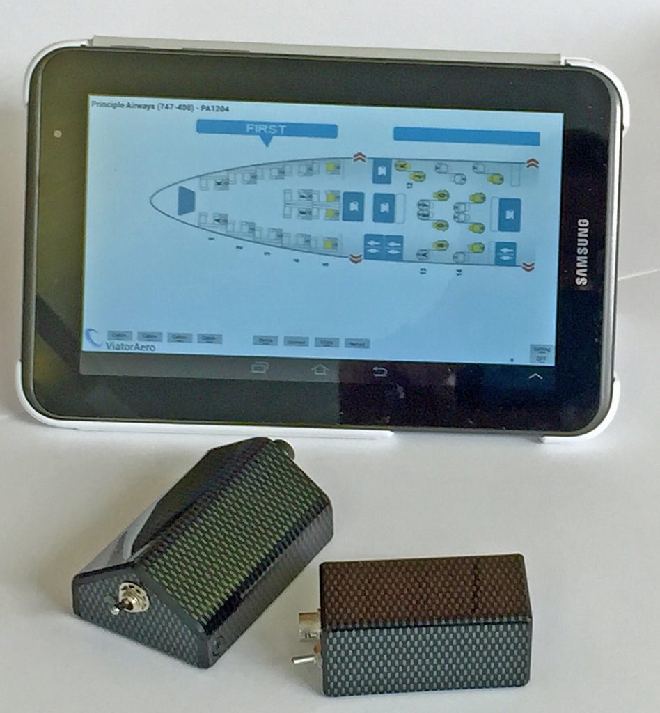 VISION: FliteTrak Viator Aero sensors, data loggers and tablet showing app display