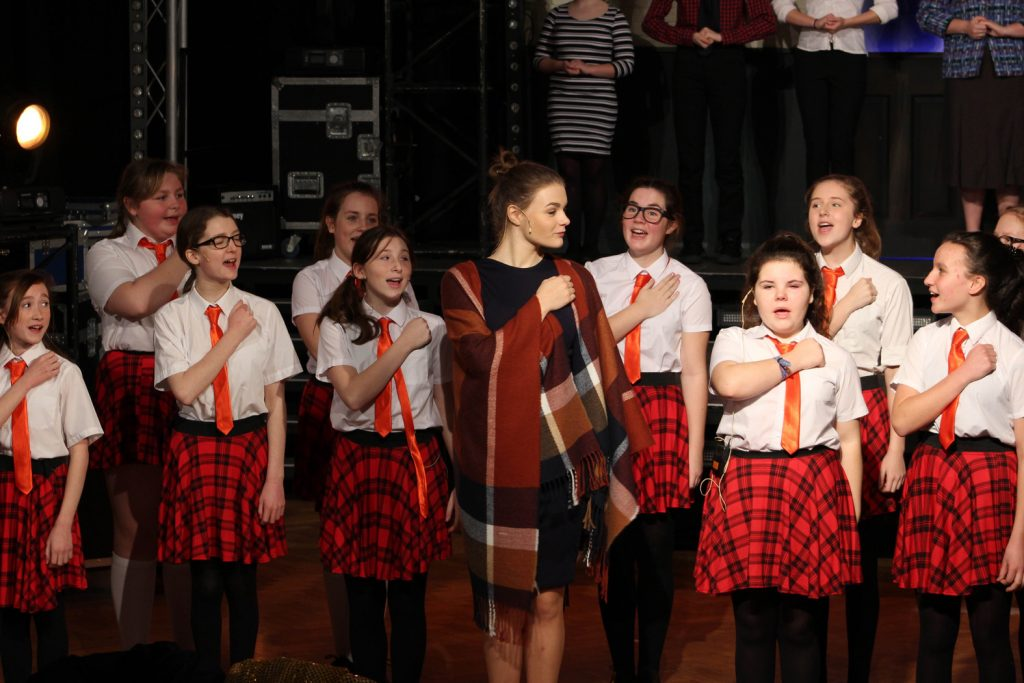 Arnewood Rocks: The talented students of The Arnewood School in New Milton staged four performances of School of Rock.