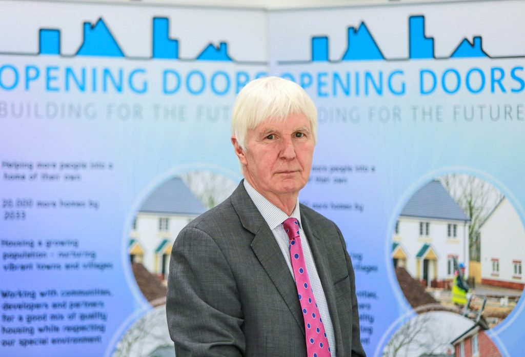 Opening Doors launch at Dorset County Council in Dorchester.