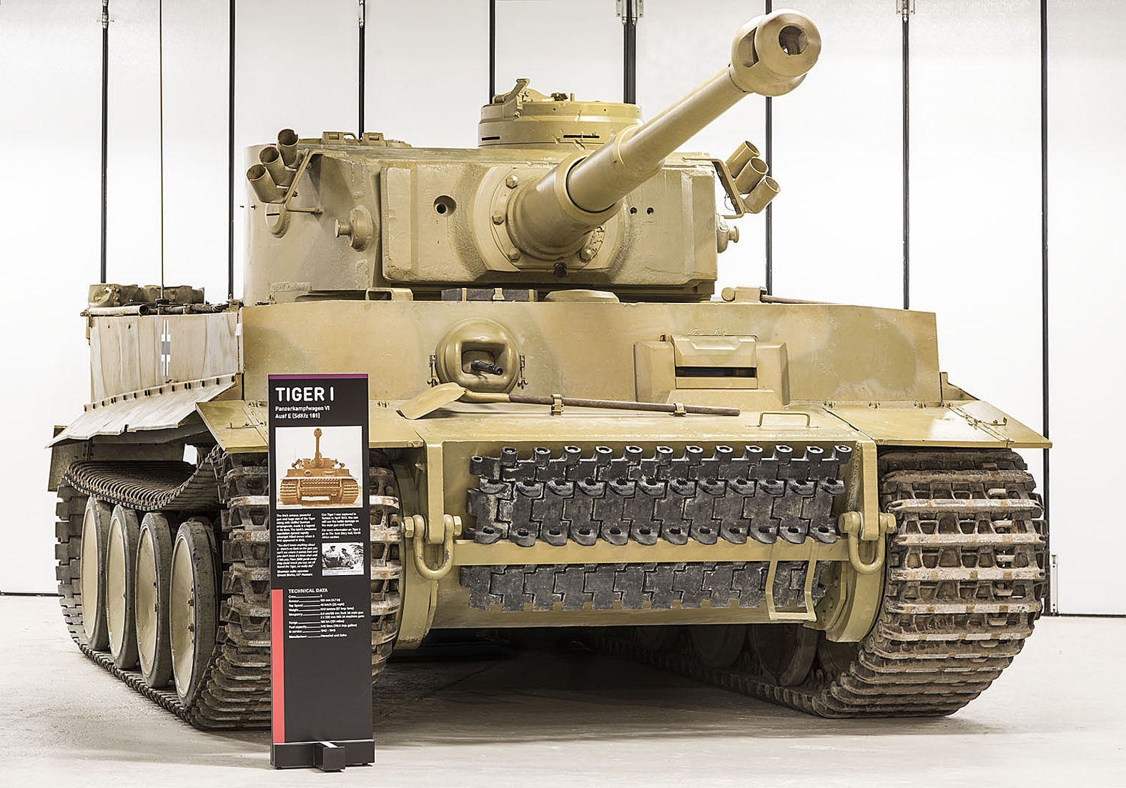 The world's only Tiger I tank will be running at the Tank ...