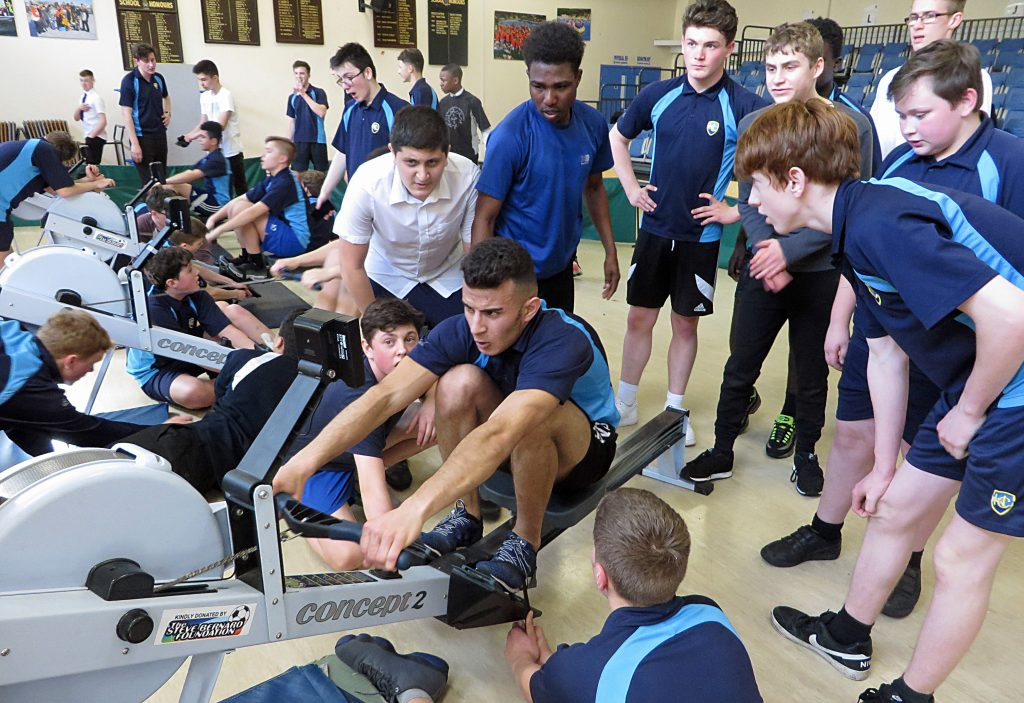 Harewood rowers rowing the distance of Bournemouth to Trafalgar Square to raise money for the Stephen Lawrence Charitable Trust. Seven squad members have been invited to attend the 25th anniversary Stephen Lawrence memorial at St Martin-in-the-Fields Church, Trafalgar Square.