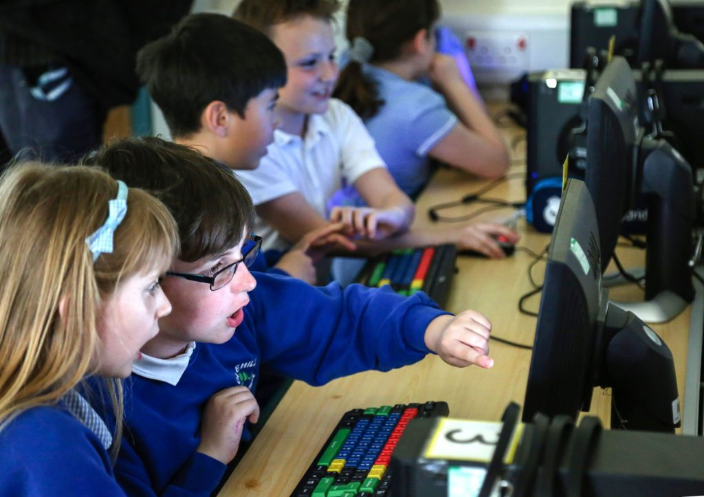 Colehill First School held an E-Safety event inviting parents to see the pupils computer work and hear the methods the school is using to ensure safety online.