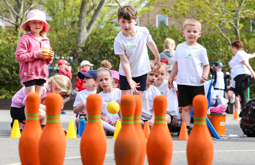 BOWLED OVER! Three Wimborne Academy Trust schools – Hayeswood First School, St John's CE First School and Colehill First School – came together for a multi-skills festival.