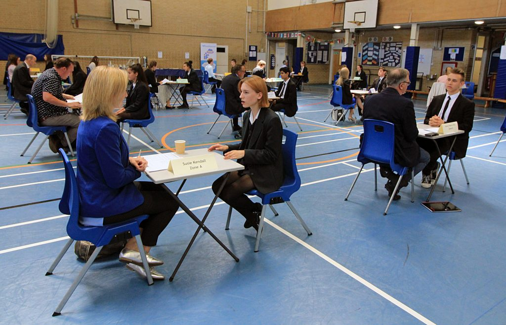 THEY'RE HIRED! Local and national employers put Avonbourne and Harewood college students through a tough interview test.