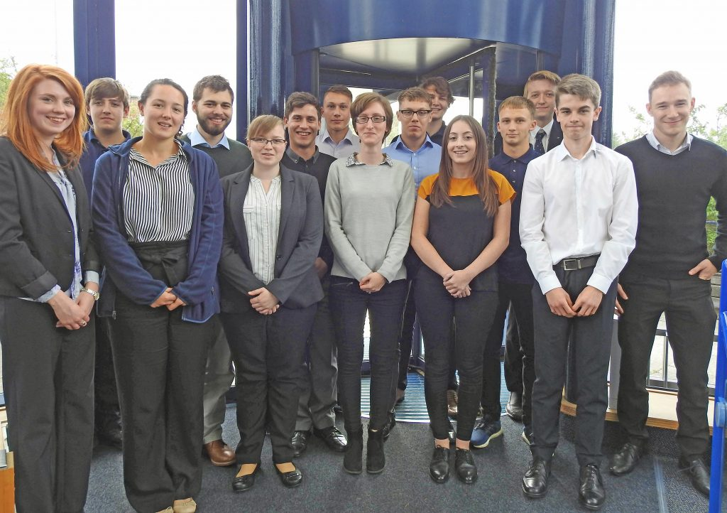 ATLAS: World at their feet - the new intake of apprentices at AEUK at Dorset Innovation Park in Winfrith, South Dorset