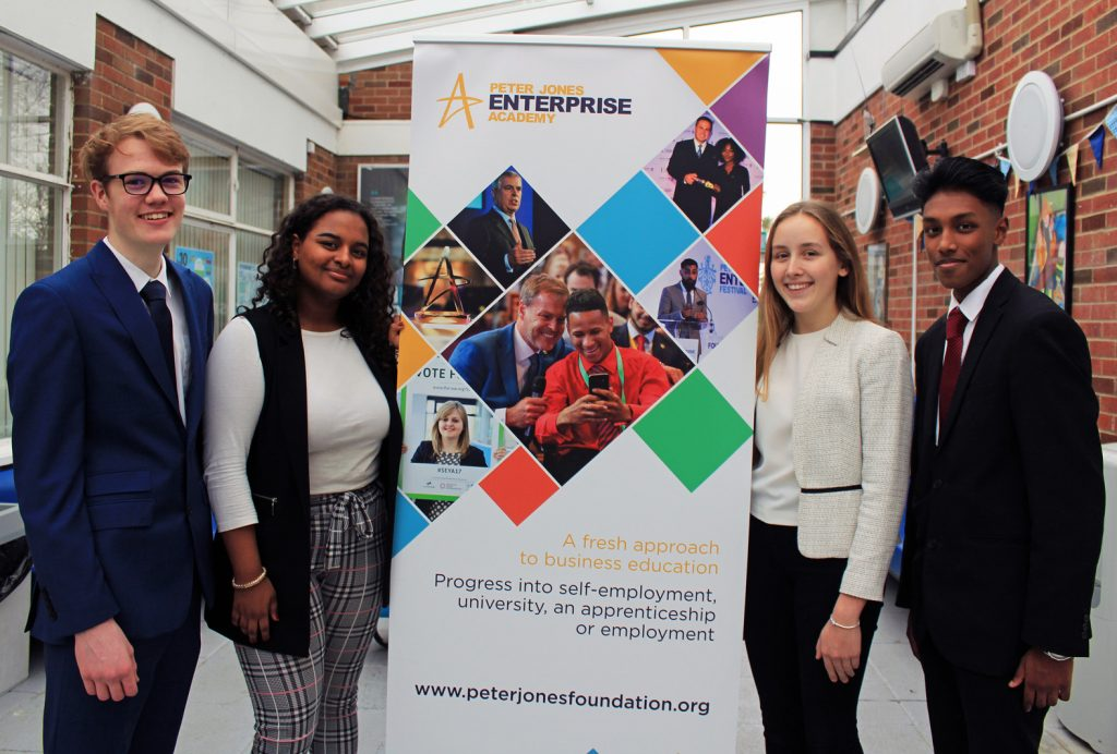 Students' heartfelt business idea wins a Peter Jones Academy Flash challenge award.