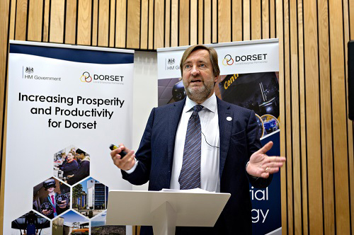 Chair of the Dorset Local Enterprise Partnership (LEP), Jim Strewart, sets out LEP's ambitions for the county at its Annual Conference 2019.