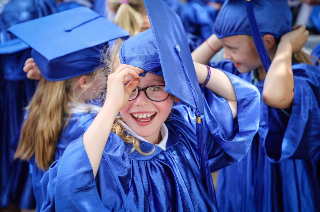 Pupils from Blackfield Primary and Fawley Infant schools took part in a graduation ceremony from the New Forest Children's University.