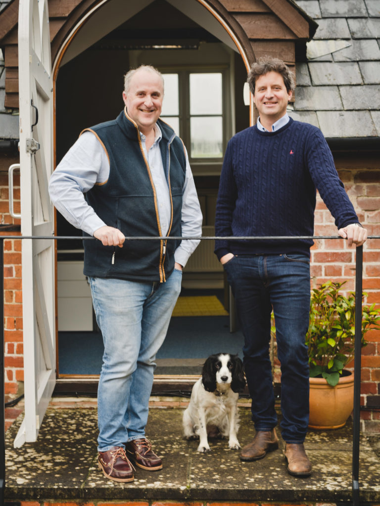 E-COMMERCE: DIGITAL GOES PHYSICAL: We are Chain directors Rupert Brown, left, and Jim Chetwode, right, launched their own online pet shop to experience the issues of their clients