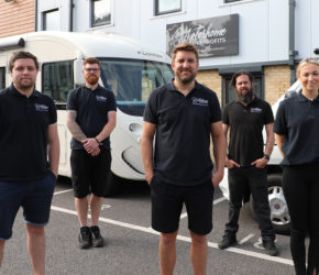 Staycation boom leads to new motorhome business