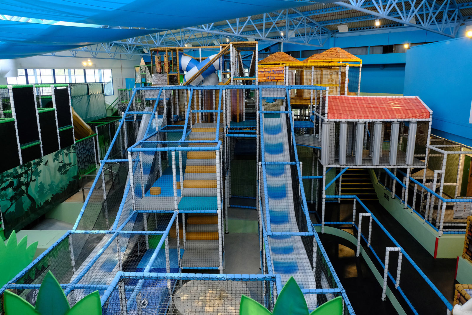 AT YOUR LEISURE: Brymor Construction has completed the first phase of a revamp at the Pyramids in Portsmouth with the creation of 'Exploria', a large play and bounce attraction.