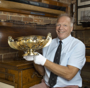 Missing King's Cup discovered